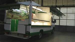 Camion Ambulant Occasion : camion magasin avec vitrine sortante pour march youtube ~ Gottalentnigeria.com Avis de Voitures