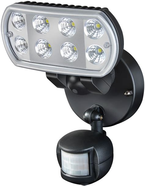 leuchte mit bewegungsmelder brennenstuhl 1178530 hochleistungs led leuchte mit bewegungsmelder l801 pir ip55 strom licht