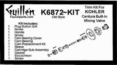 tub  shower valve  handle  build kit  trim kits