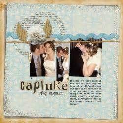wedding scrapbook layout roundup ideas for scrapbooking weddings
