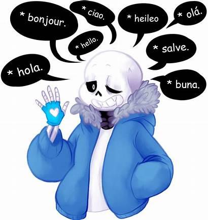 Sans Lot Undertale Maker Skeleton Languages Knows