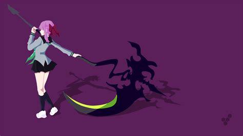 Anime Vector Wallpaper - hiiragi shinoa scythe vector vector simple