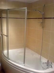 Pare Baignoire D Angle : baignoire d 39 angle avec pare bain in deco ~ Melissatoandfro.com Idées de Décoration