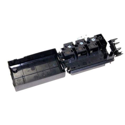 branchement electrique hotte de cuisine bornier électrique pour branchement et connectique four