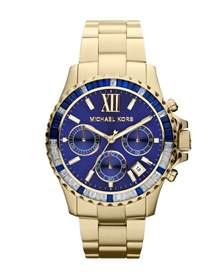 Michael Kors Watch with Blue Face