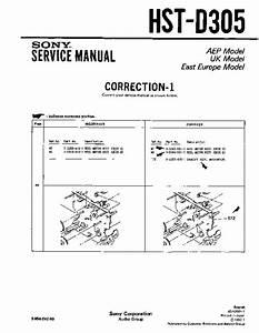 Sony Hst-d305  Serv Man4  Service Manual