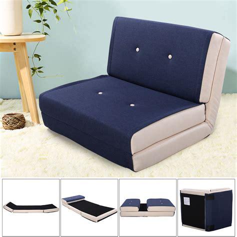 fold down sleeper sofa giantex fold down chair flip out lounger convertible