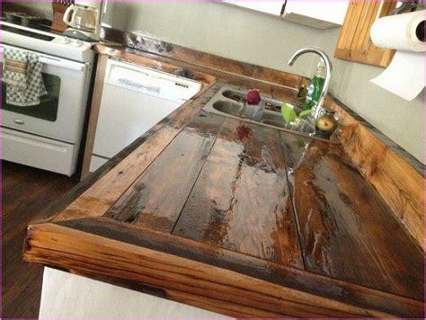 rustic timber countertops   diy wood countertops