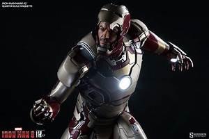 Iron Man 3 Mark 42 Maquette - The Toyark - News