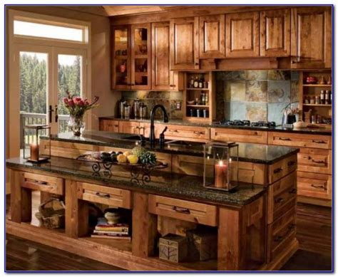 rustic kitchen cabinet ideas rustic kitchen cabinets diy kitchen set home
