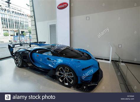 Bugatti Veyron Vision Gran Truism Gt6 Concept Car On