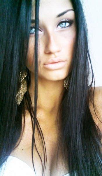 Black Brunettes by Black Pale Makeup Black Hair
