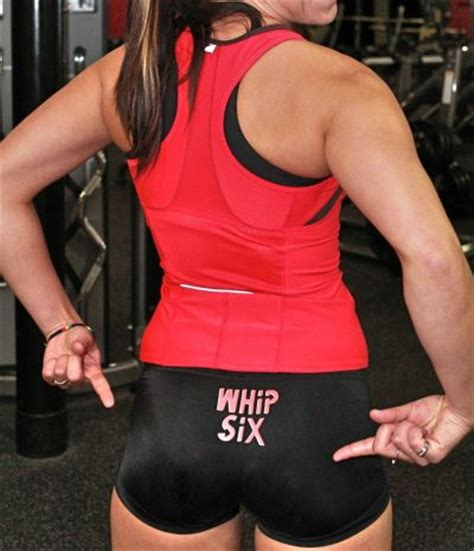 fitness shorts atd whip  spankie  rise