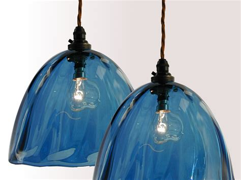 handmade glass lighting