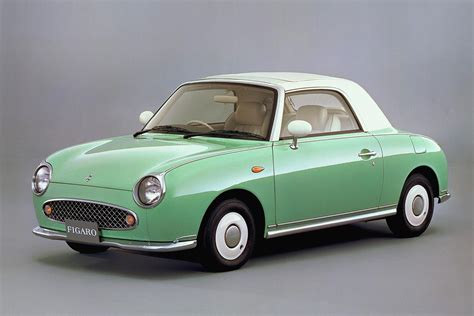 old nissan coupe nissan figaro 1989 japanese classic car images and review