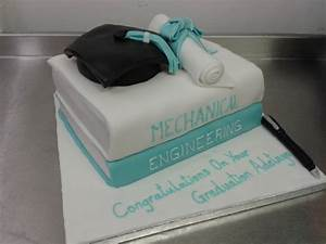 Textbook, Mortar Board and Scroll Graduation Cake Crumbs