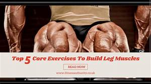Top 5 Core Exercises To Build Leg Muscles