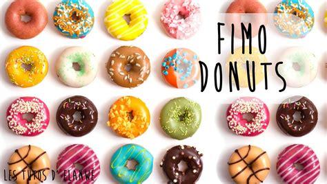 tuto pate fimo facile tutoriel 16 r 233 aliser un donut en fimo clay doughnut