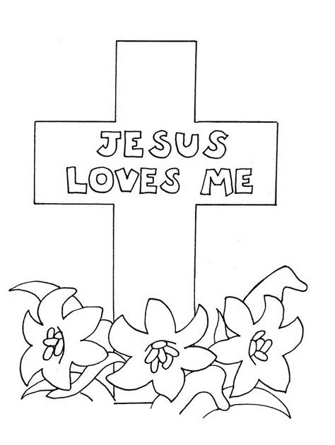 religious easter coloring pages  coloring pages  kids