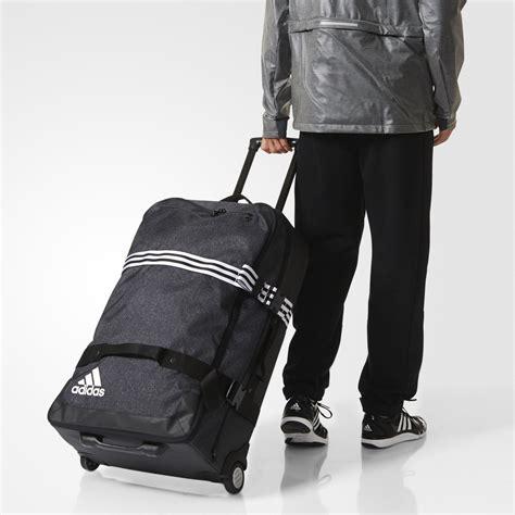 adidas team travel trolley mit rollen goalietaschen