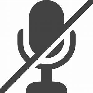 Mute Microphone - Free technology icons