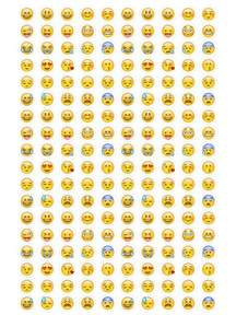 emoji stickers instant print smiley emoticons by nentra planner stuff