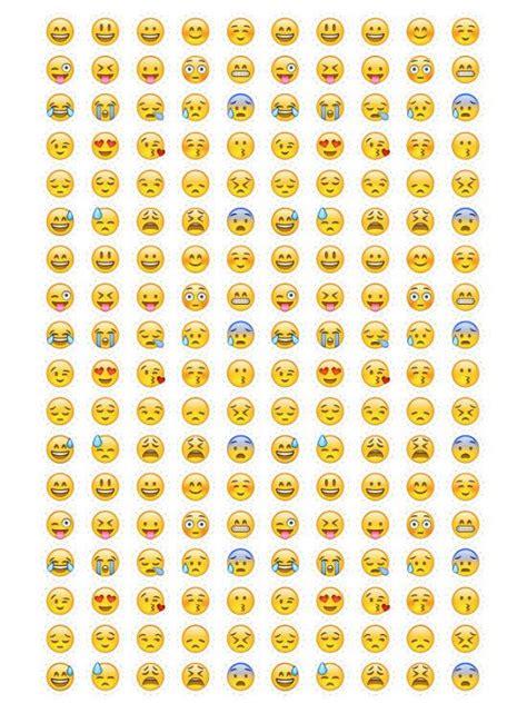 awesome printable emojis kittybabylovecom