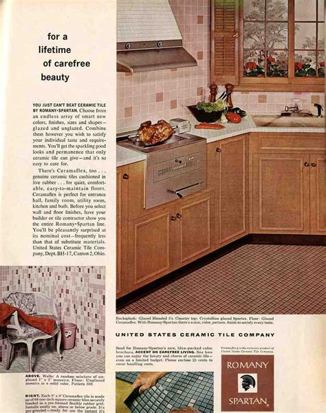 retro tiles kitchen romany tiles and hechinger paint merrypad 1950