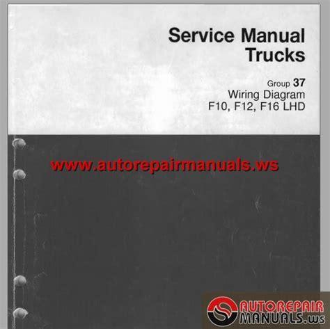 volvo truck f10 f12 f16 1998 service manual auto repair manual forum heavy equipment forums