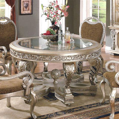 silver dining table set silver dining room igfusa org