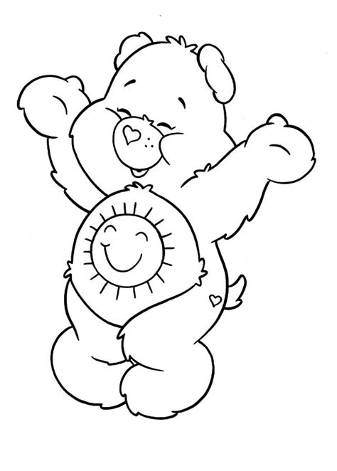 care bears coloring pages  place  color
