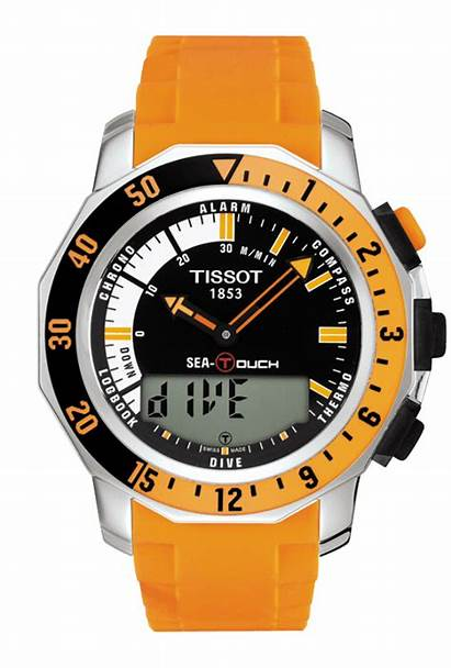 Tissot Touch Sea Meters T026