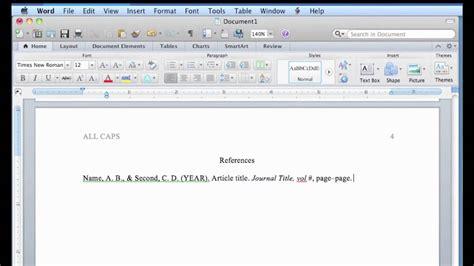 format  word  mac youtube