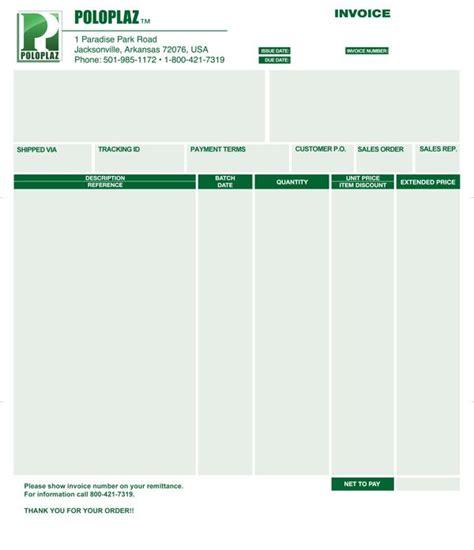 Surat Invoice by 17 Best Images About 9 Contoh Desain Invoice Surat Daftar