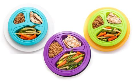 portion pates 1 personne portions master portion plates groupon