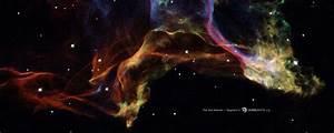 HubbleSite - Wallpaper: The Veil Nebula, segment 3