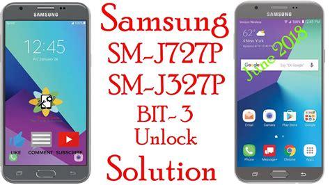 Samsung J327p & J727p Unlock Solution Free