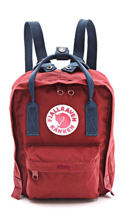 fjallraven re kanken fjallraven kanken mini backpack in lyst