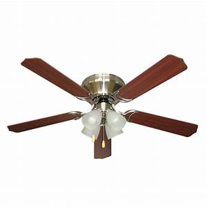Light ceiling fans