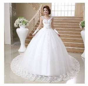 a line classic white wedding dress hand beaded bridal gown With church wedding dresses