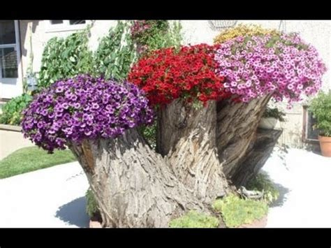 Garden Decoration Tree by 15 Ideas Recycle Tree Stump For Garden Decorations
