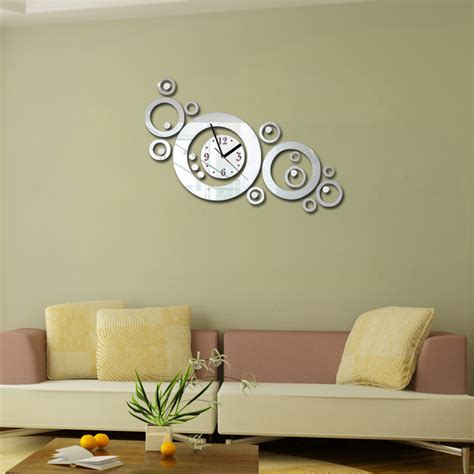 Living Room Wall Clocks Uk by 2016 Rushed Living Room Acrylic Wall Clock Clocks Reloj De