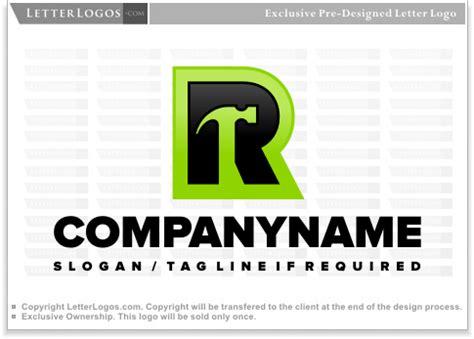 letter  hammer logo letter  logo