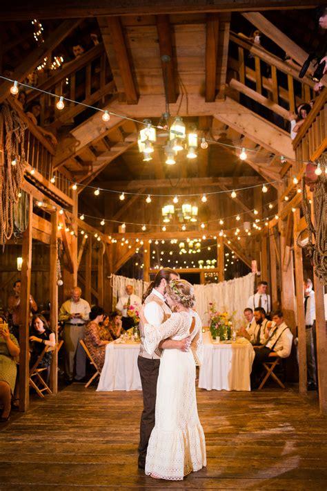 string lights  wooden dance floor