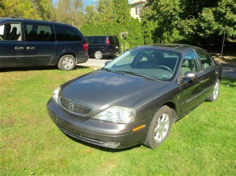 Buy Used 2003 Mercury Sable Ls Premium Sedan 4-door 3.0l