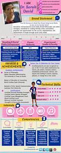Social Savvy Resume By Dr  Sarah David  Via Behance