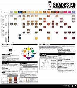 Redken Shades Eq Color Chart Hair Pinterest Stylists