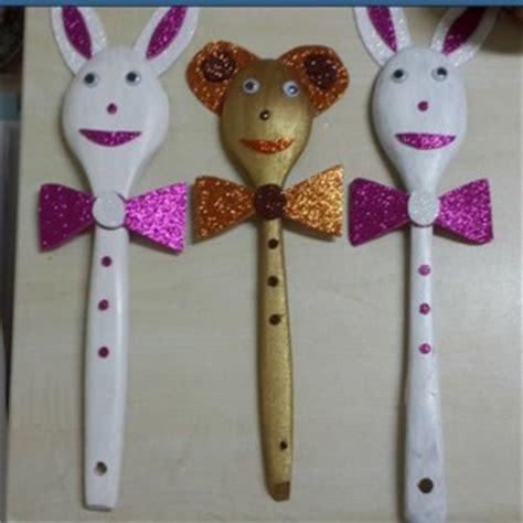 spoon craft idea  kids crafts  worksheets