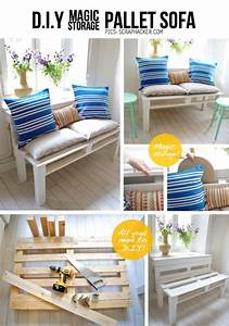 50 diy pallet furniture ideas With do it yourself furniture ideas