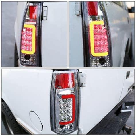 1996 chevy silverado tail lights 1996 chevy silverado chrome led tail lights red tube